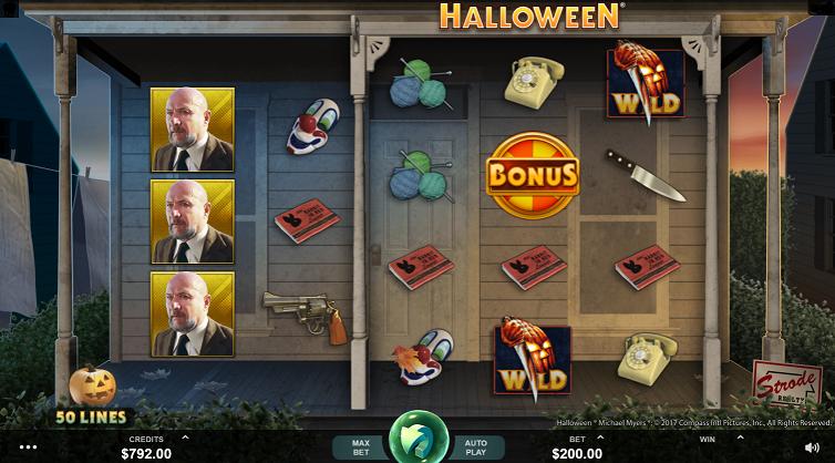 Ny Slotmaskin – Halloween