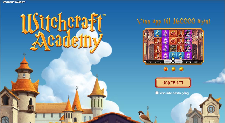 Witchcraft Academy slotmaskin